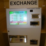 Exchange machine